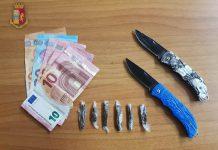 Denunciati due tarantini per spaccio di sostanze stupefacenti