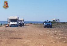 Sanzioni a Taranto per divieto di campeggio