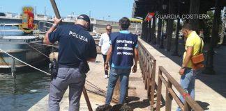 Sequestrati a Taranto 3 quintali di cozze in stato di avaria