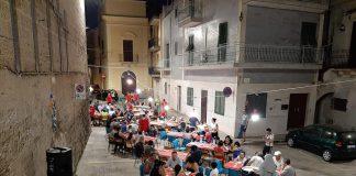 Una cena Comunitaria a Massafra davvero speciale