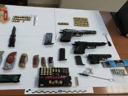 Arrestato a Taranto 54enne per detenzione illegale di armi