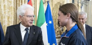 La tarantina Benedetta Pilato incontra Sergio Mattarella