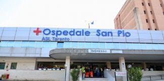 Ospedale San Pio di Castellaneta primo fra ospedali jonici
