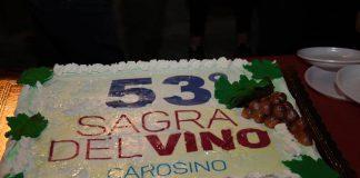 Sagra del vino 2019 a Carosino. Un grande successo