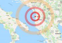 Scosse di terremoto in Albania avvertite in Puglia