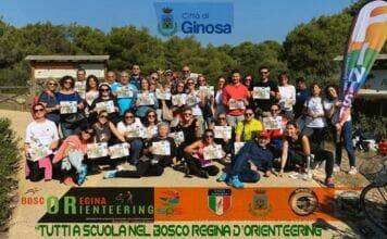 Corsi di orienteering presso l'IC Leone di Marina di Ginosa