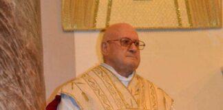 Dipinto di don Franco Venneri parroco di San Marzano