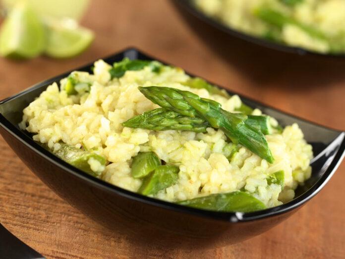 Ricetta risotto agli asparagi delizia per il palato