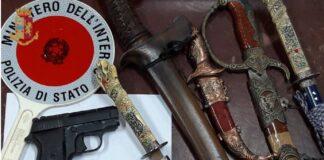 Rinvenute armi nel quartiere Paolo Sesto di Taranto