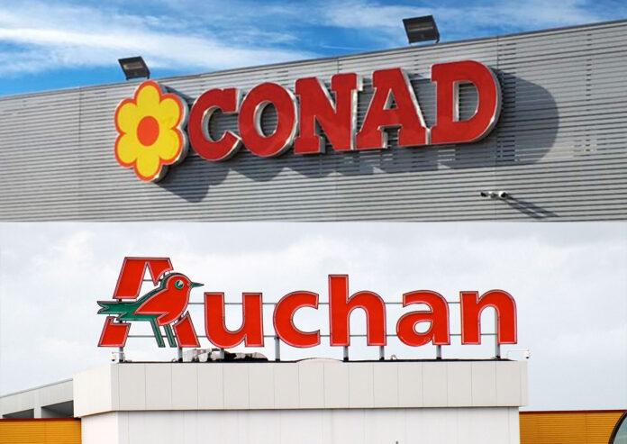 Conad, Auchan, Taranto