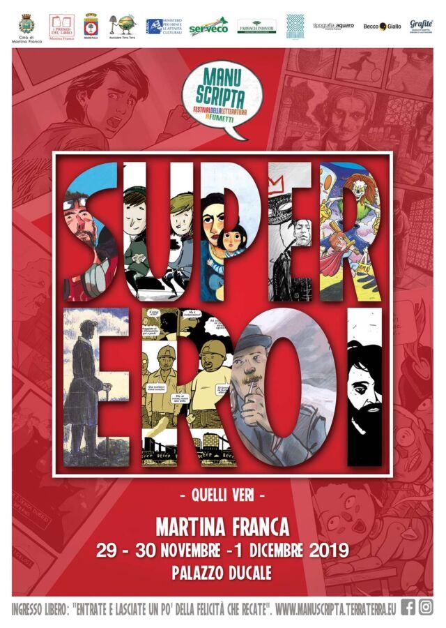 Martina Franca: organizzato il Festival della Letteratura a Fumetti