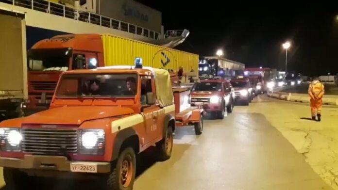 La Puglia vicino all'Albania per aiutare le persone colpite dal terremoto