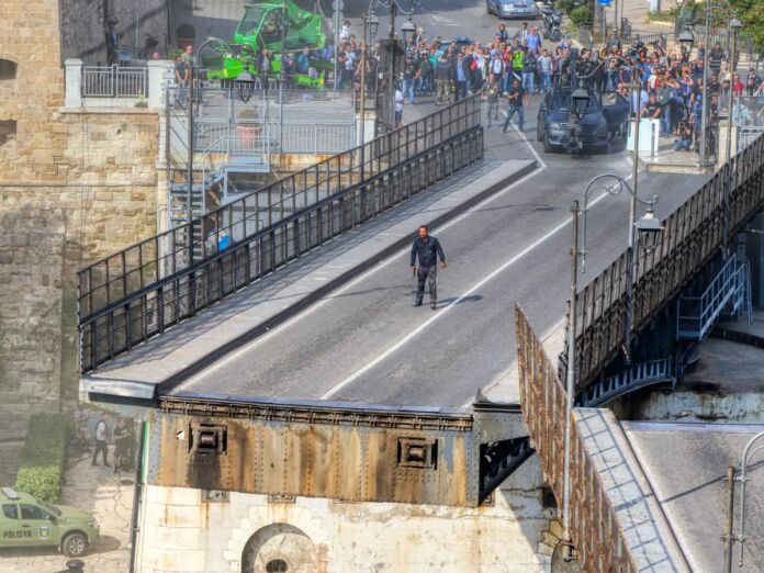 Six Underground film girato a Taranto