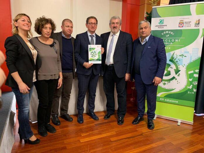 Premio Comuni Ricicloni di Puglia 2019 al Comune di Massafra