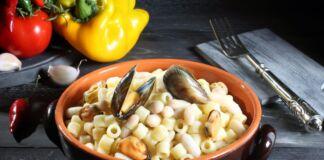 Tubettini cozze e fagioli