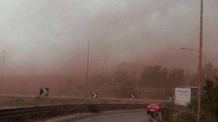 Taranto: i venti forti sollevano le polveri tossiche dello stabilimento Ex Ilva