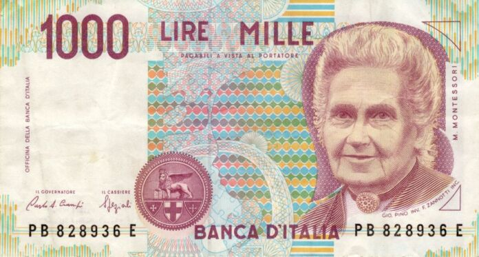 1000 lire al mese