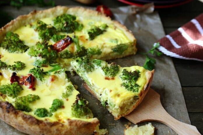Quiche di Broccoli e Formaggio