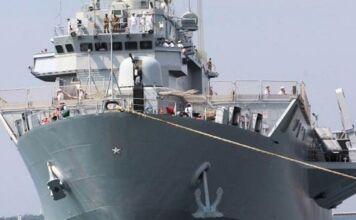 Nave San Giusto Marina Militare