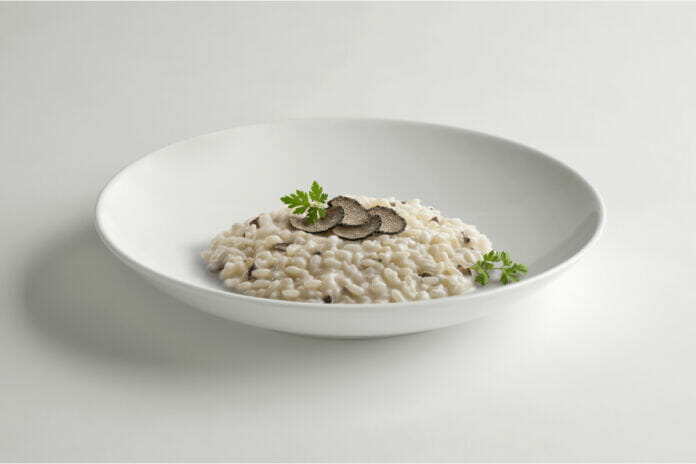 ricetta risotto tartufo