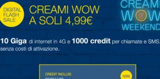 Creami WOW Weekend 30GB