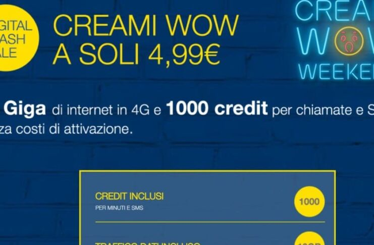 Creami WOW Weekend 30GB