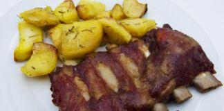 Ricetta Costine di Maiale in salsa barbecue