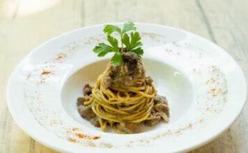 Ricetta Tagliolini con crema di tartufo