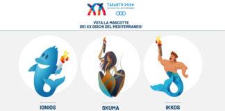 Giochi del Mediterraneo mascotte