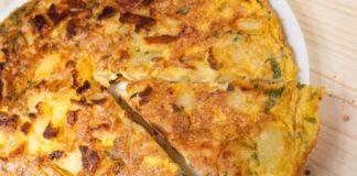 Ricetta Frittata di Patate al formaggio