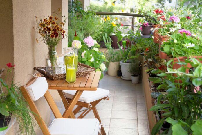 Castellaneta balconi fioriti