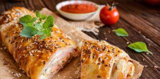 Ricetta Strudel Salato con Prosciutto
