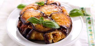 Ricetta Timballo di pasta con melanzane fritte