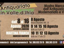 Antiquariato in Valle dItria 19esima edizione