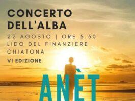Concerto all'alba 2020 Locandina