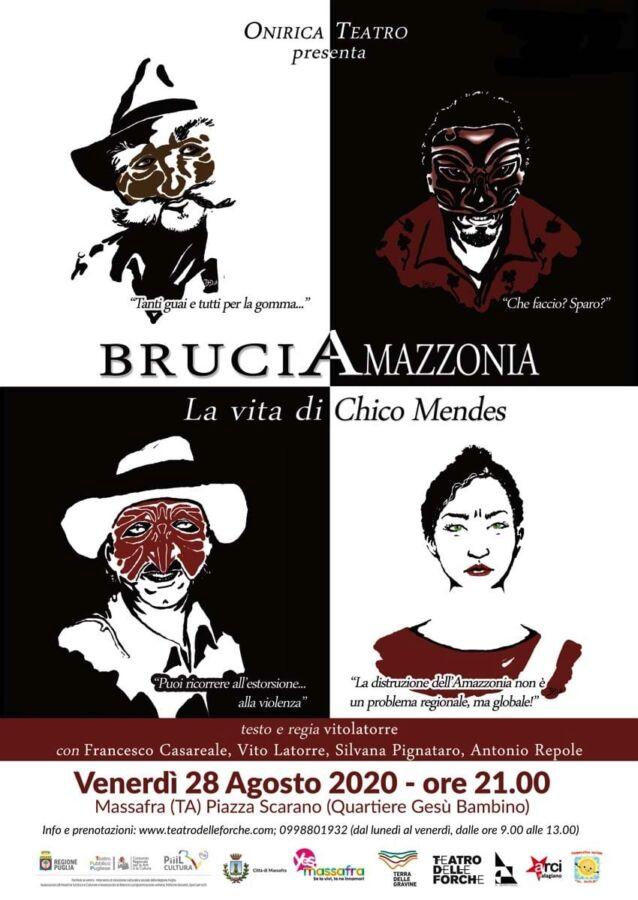 BruciAmazzonia - Massafra