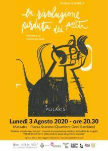 Locandina presentazione La rivoluzione perduta dei poeti