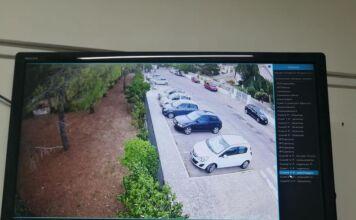 Telecamere nel parco di Crispiano