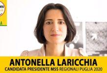 Movimento 5 stelle alle Regionali 2020 Antonella Laricchia