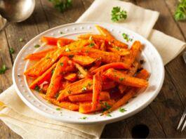 Ricetta Insalata di carote arrosto