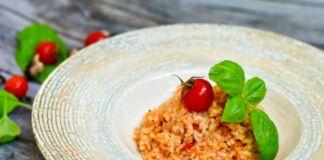 Ricetta Risotto al pomodoro fresco e basilico