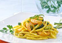 Trofie Gamberetti e Zucchine
