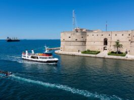 Taranto: cambio orari idrovie dal 1 settembre