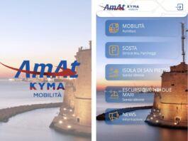 nuova app di Kyma Mobilità Amat