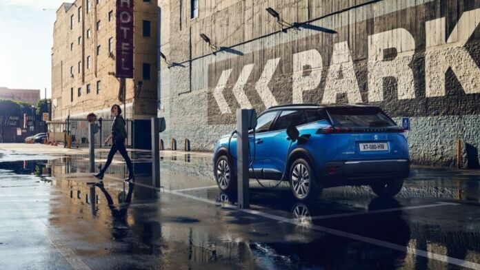 Peugeot - Lane positioning Assist