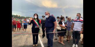 Ponte ostone Lizzano inaugurazione