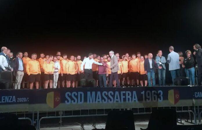 La squadra SSD Massafra 1963