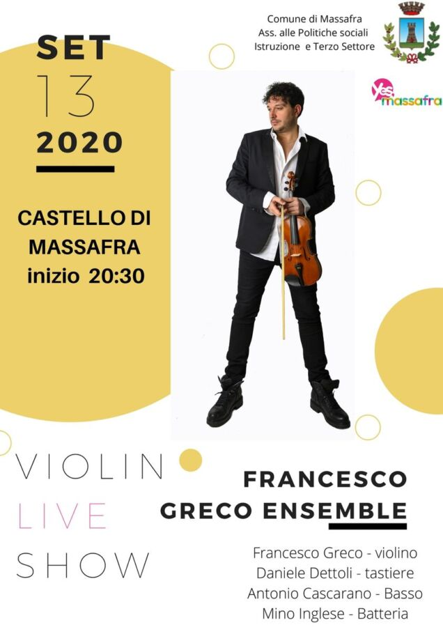 La Francesco Greco Ensemble in concerto a Massafra