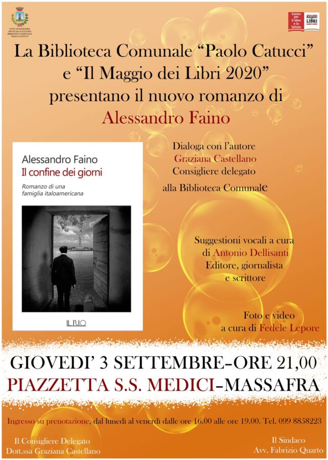 Incontro con Alessandro Faino