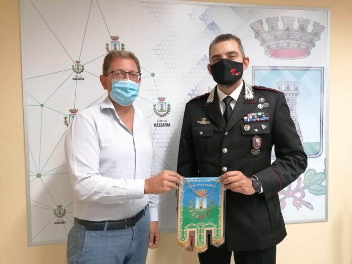 Il capitano Leone lascerà Massafra: il saluto al sindaco